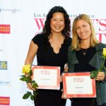la-business-journal-women-summit-awards-lindy-huang-werges-justine-lassoff