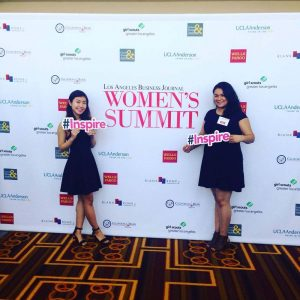 la-business-journal-womens-summit-chloe-liu-michelle-reyna