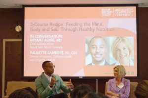 MSMU Women's Leadership Conference Conversation with Dr. Bryant Adibe and Paulette Lambert