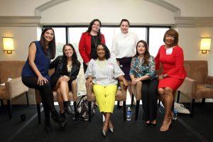 Kiesha Nix, Betty Lamarr, Asha Dahya, Luz rivas, Megan Sette (Photo credit: MSMU)